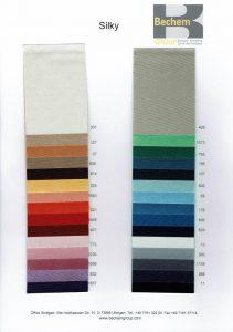 Satin-Farben