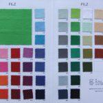 Felt color palette