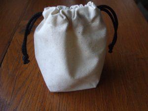 Beutel aus Baumwolle